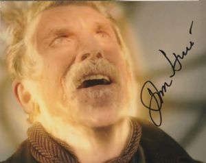 John Hurt - The War  Doctor, 10x 8 picture. This is an original autograph and not a copy. 10321
